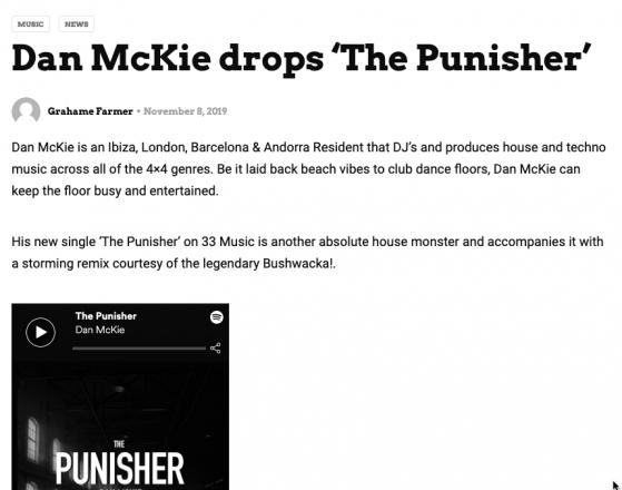 Data Transmission - The Punisher Write Up - Dan McKie